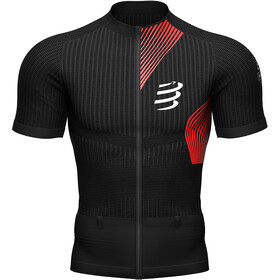 Compressport Trail Postural SS Top Men, black